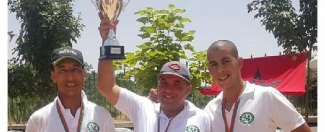 Le stade Marocain Champions Trophee Hassan II 2019