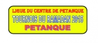 Ligue du Centre: TOURNOIS DU RAMADAN 2015